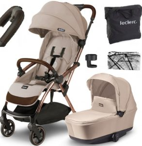 2w1 _ ALL be inf 2w1 leclerc-leclerc-influencer-bassinet-sand-chocolate-887523