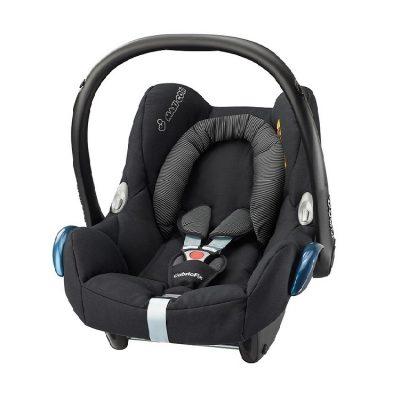 maxicosi carseat babycarseat cabriofix 2017 black blackraven 3qr