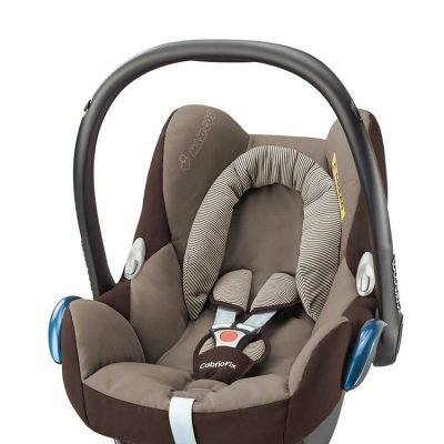 maxicosi carseat babycarseat cabriofix 2017 brown earthbrown 3qr