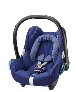 maxicosi carseat babycarseat cabriofix 2017 blue riverblue 3qrt