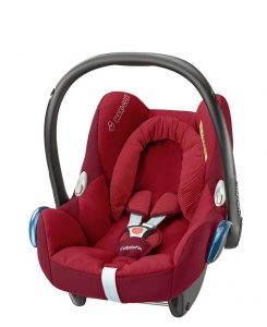 maxicosi carseat babycarseat cabriofix 2017 red robinred 3qrt