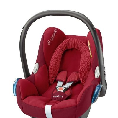 maxicosi carseat babycarseat cabriofix 2017 red robinred 3qrt