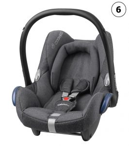 maxicosi carseat babycarseat cabriofix  2017 grey sparklinggrey