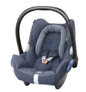 maxicosi carseat babycarseat cabriofix 2017 blue nomadblue 3qrt