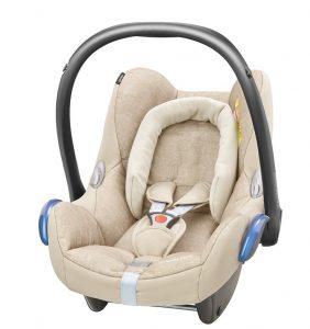 maxicosi carseat babycarseat cabriofix 2017 beige nomadsand 3qrt
