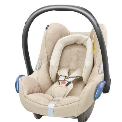 maxicosi carseat babycarseat cabriofix 2017 beige nomadsand 3qrt