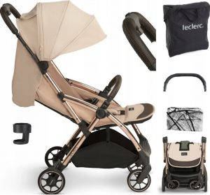 BE WOZEK-SPACEROWY-LECLERC-INFLUENCER-GOLD-6-6KG-SAND