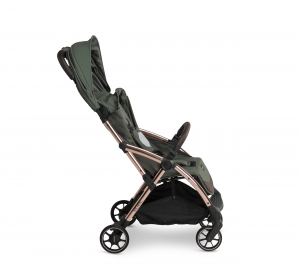 Influencer – army green – side – canopy in