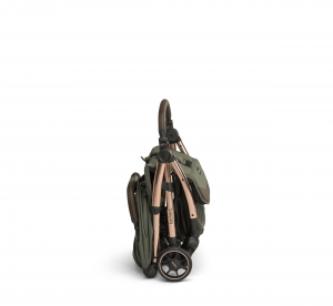 Influencer – army green – side – folded