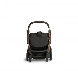 Influencer – black brown – front – folded