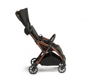 Influencer – black brown – side – canopy in