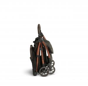 Influencer – black brown – side – folded