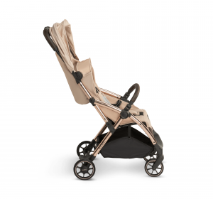 Influencer – sand chocolate – side – canopy in