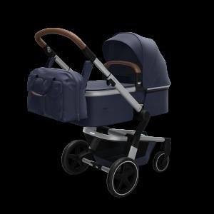 Joolz Hub+ – Nursery Bag – Cot – Perspective – Classic blue