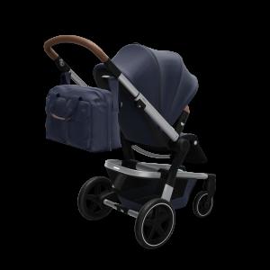 Joolz Hub+ – Nursery Bag – Seat – Perspective – Classic blue