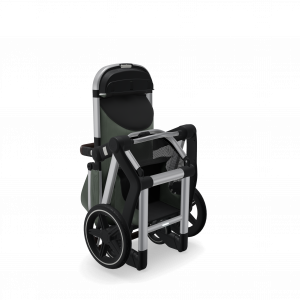 Joolz_Day__Chassis_Seat-Folded_Perspective_Marvellous_green