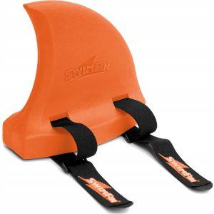 Pletwa-do-nauki-plywania-dla-dzieci-SWIMFIN-Orange