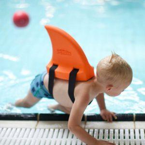Pletwa-do-nauki-plywania-dla-dzieci-SWIMFIN-Orange-Plec-dziewczynka-chlopiec