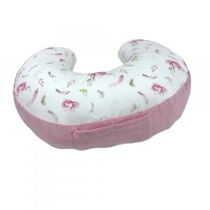 Poduszka-do-karmienia-Blossom-brudny-róż