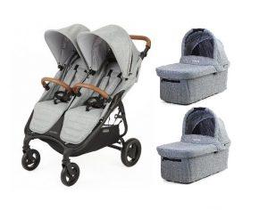 Valco-Baby-Snap-Duo-Trend-Blizniaczy-Wozek-Spacerowy-Tailor-Made-Grey-Marle-50mmmm