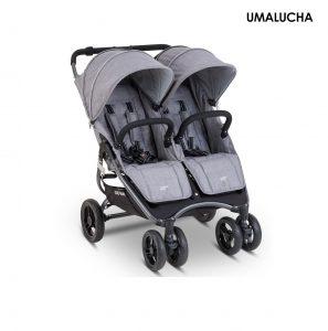 Wozek-blizniaczy-Valco-Baby-Snap-Duo-Grey-Marle — kopia