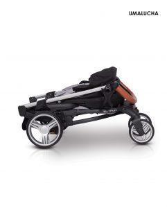 Złożony-wózek