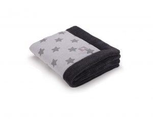 a3184 Grey stars cotton jersey _graphite