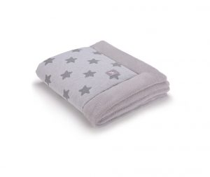 a3199 Grey stars cotton jersey _grey