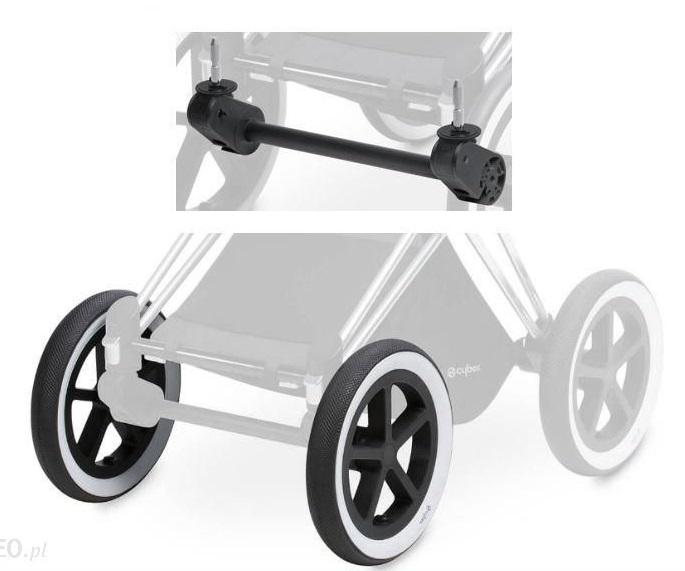 Adapter Kol Przednich Cybex Priam Front Wheel Kola Tylnie All Terrain Zestaw