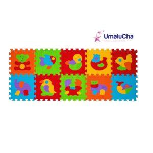 mata-puzzle-piankowe-podlogowe-zwierzeta-10-sztuk-babyono
