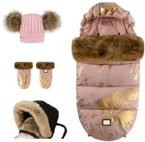 pink golden zestaw 4 elementy