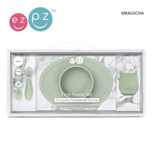 pol_pl_EZPZ-Komplet-pierwszych-naczyn-silikonowych-First-Foods-Set-pastelowa-zielen-5723_2