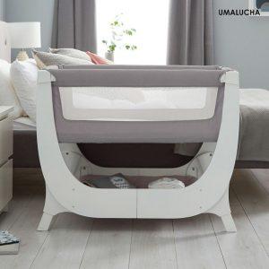 pol_pl_Lozeczko-dostawne-dla-niemowlaka-Shnuggle-AIR-Bedside-Crib-kolor-DOVE-15525_1