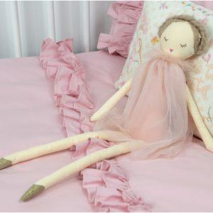 posciel-z-falbanka-romantic-pudrowy-roz