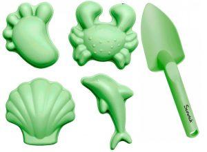 silikonowe-foremki-do-piasku-4-szt-scrunch-pastelowy-zielony — kopia