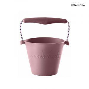 skladane-wiaderko-do-wody-i-piasku-scrunch-bucket-pudrowy-roz