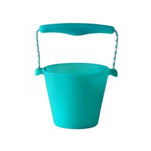 skladane-wiaderko-do-wody-i-piasku-scrunch-bucket-turkusowy